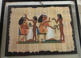 Cuadro motivo egipcio