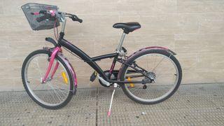 bicicleta niña, patines y patinetes