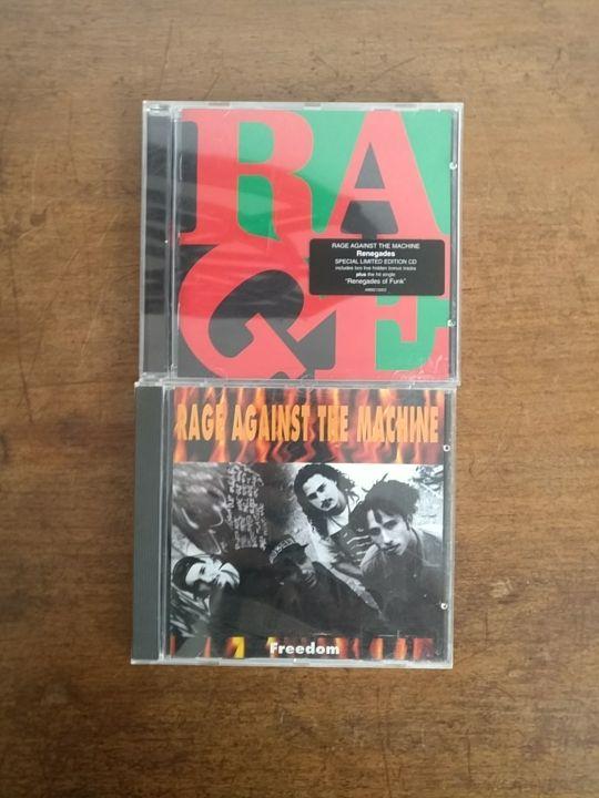 CD'S de Rage Against the Machine
