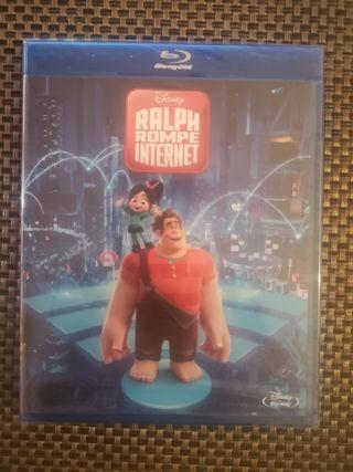 Ralph Rompe Internet (blu-ray)