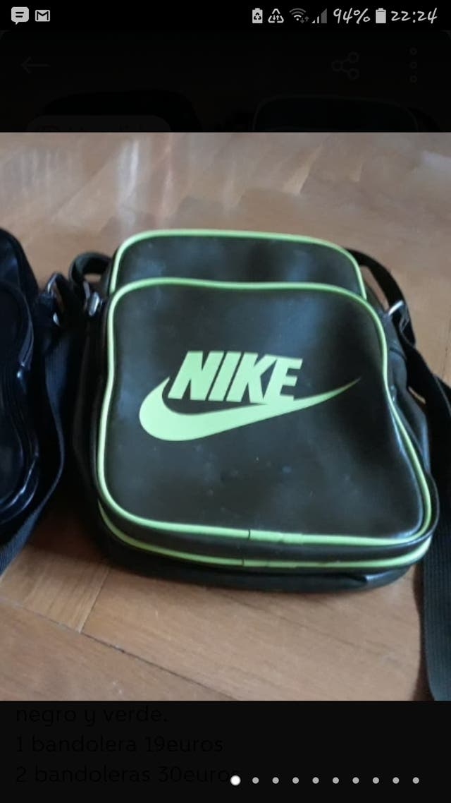Bandolera Nike Verde