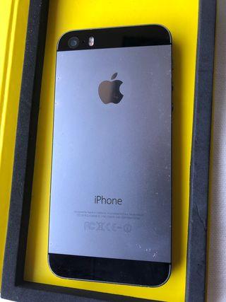 Móvil IPhone 5s gris espacial 16 gb
