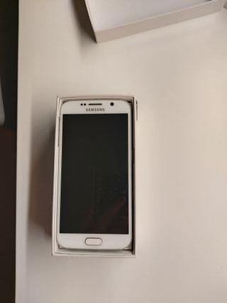 Samsung Galaxy S6 32GB blanco.