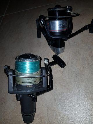 Caretes de pesca Shimano 4000