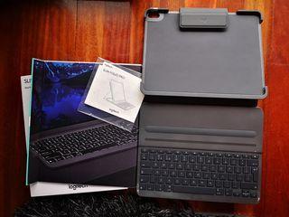 teclado slim + funda iPad pro 12.9 pulgadas