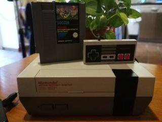 Nintendo Nes consola 8 bits impoluta