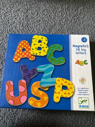 Djeco Magnetic's letters