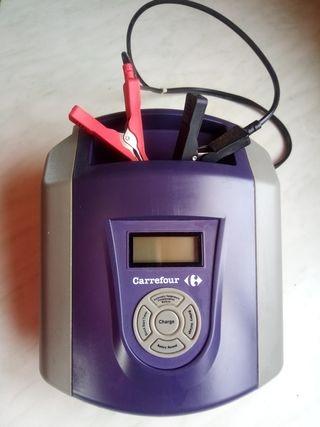 Cargador arrancador de baterías