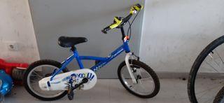 bicicleta infantil 16 pulgadas