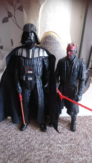 Darth Vader And Darth Maul Action Figures