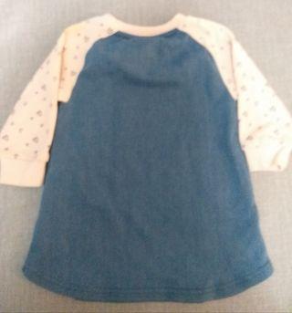 Vestido bebé niña talla 6-9 meses