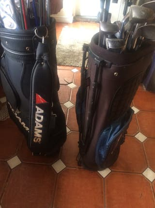 2x Golf sets, branded clubs