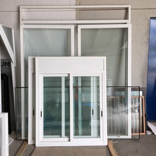 Pack 2 ventanas correderas + balconera corredera