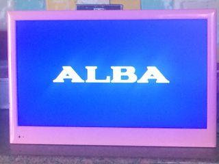 """Alba 22"""" pink Tv/dvd combi"""