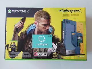 XBOX ONE X EDICION ESPECIAL CYBERPUNK 2077