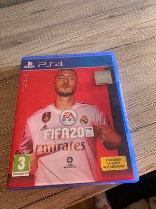 Vendo FIFA 20 Ps4