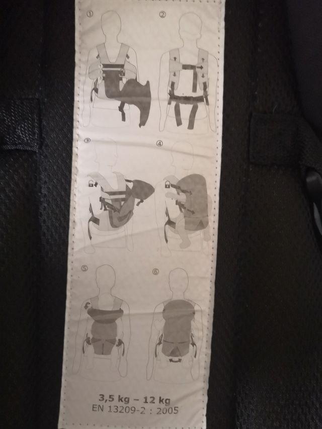 mochila porta bebes oshkosh
