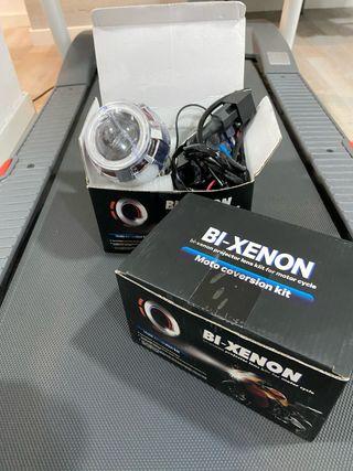 Luz delantera bi xenon projector lens