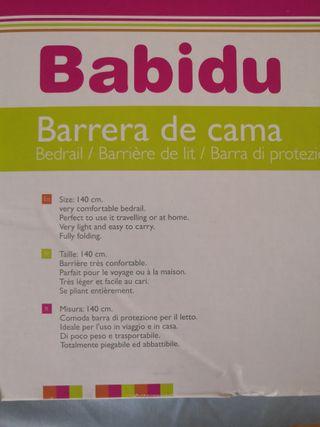 barrera cama babidu 140cm