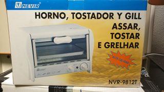 Horno, tostador y grill