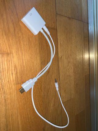 Cable vga a hdmi