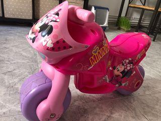 Moto infantil Minnie Mouse