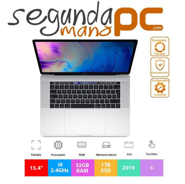 "Apple MacBook Pro 15.4"" 2019 - Core i9 - 1TB SSD"