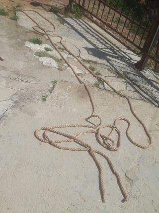 cuerda soga gorda 20 metros nueva