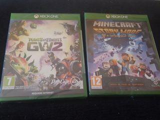 Juegos Xbox one minecraft y planta va zombie gw2