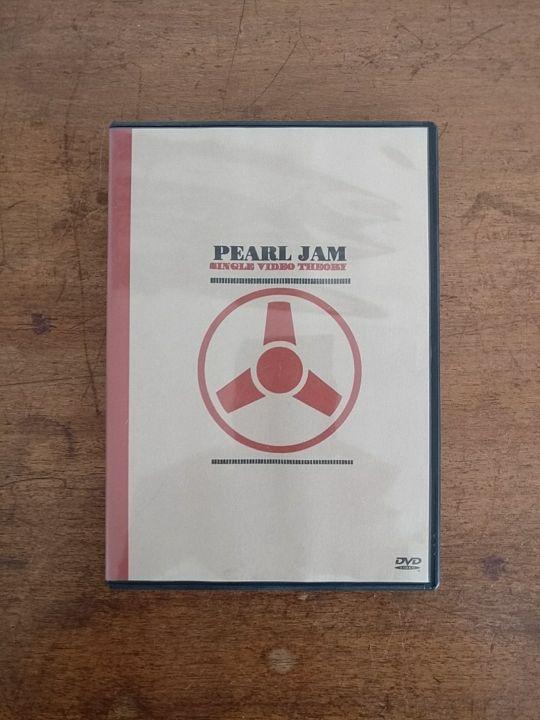 DVD. Pearl Jam. Single Video Theory