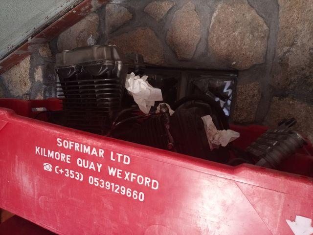 motor hyosung gtr125 carburacion 2007