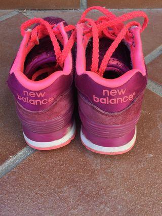 new balance niña 36