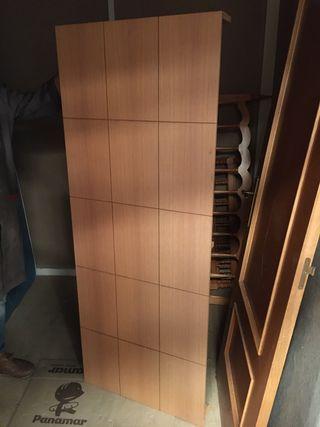 Cabezal cama de madera 170x66