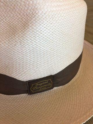 Sombrero Panamá Original. Mujer