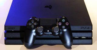 ps4 pro 1t dos mandos y 9 juegos
