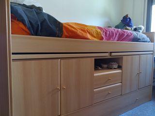 Cama mueble juvenil