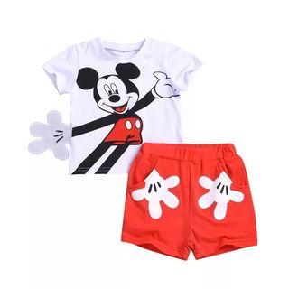 conjunto niño nuevo Mickey 3/4 años