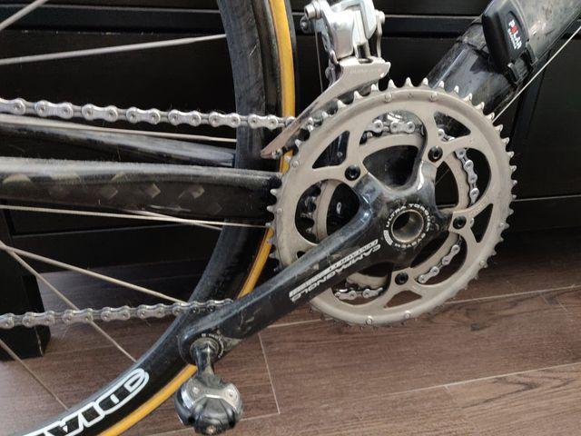 Bici de carretera de carbono