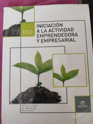 Libro de Iniciación a la actividad emprendedora y