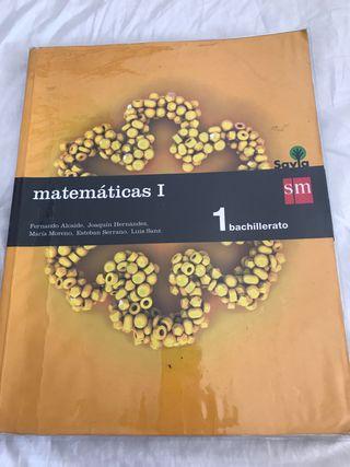 MATEMÁTICAS 1 SM 1 BACHILLERATO