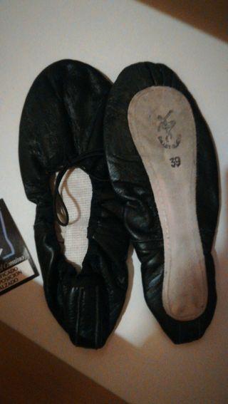 zapatillas danza. num. 39