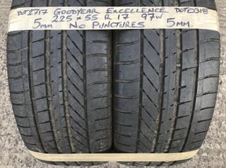 Second hand good quality tyres