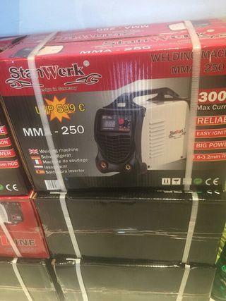 nueva máquina soldar 300amperios electrodo