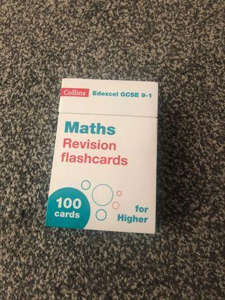 Maths flash cards