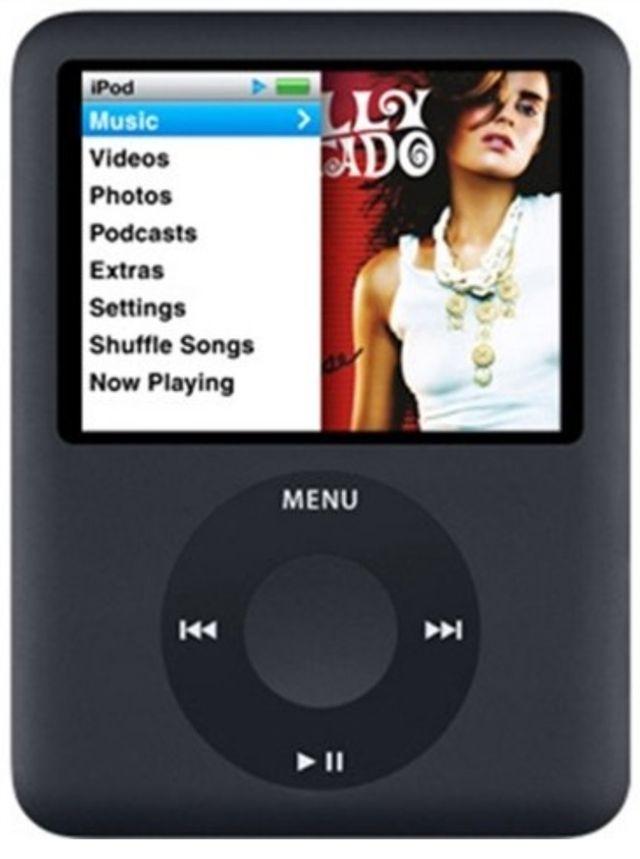 Apple iPod Nano 3rd Generation 4GB - Plata