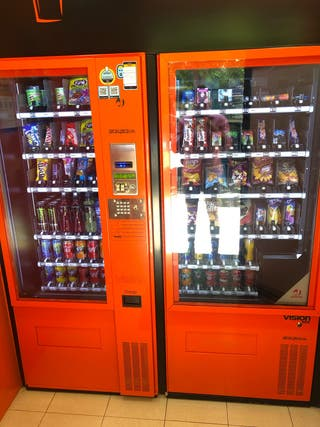 Máquinas de Vending dispensadoras