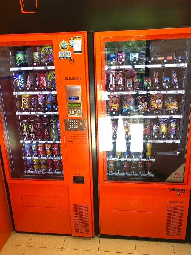 Máquinas de Vending dispensadoras
