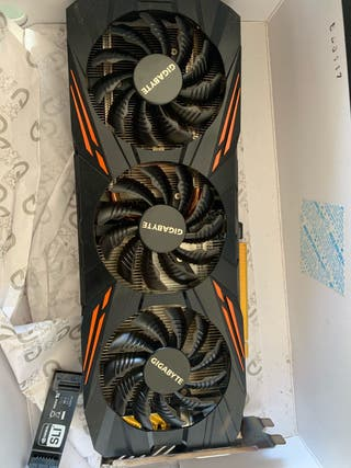 2 graficas Gigabyte Geforce GTX 1070 G1 8GB DDR5