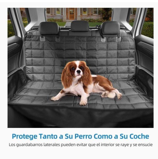 Funda asiento y arnés coche perro