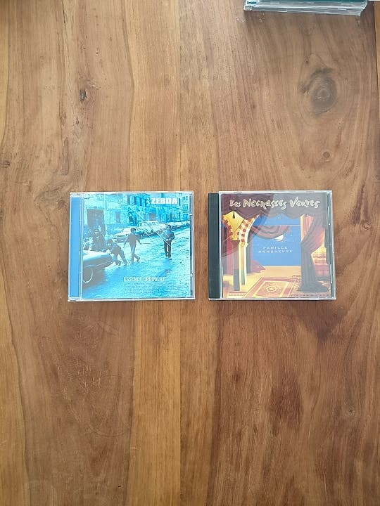 CD'S Zebda y Les Negresses Vertes